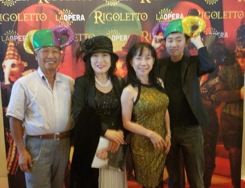오페라 Rigoletto 발사모 단원과 함께 ..