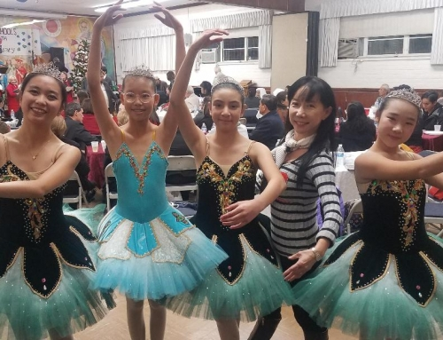 Christ the King Catholic Church invited Jean ballet school