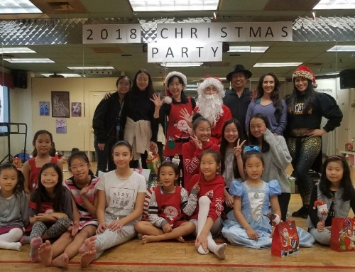 2018 . Jean Ballet School Christmas Party